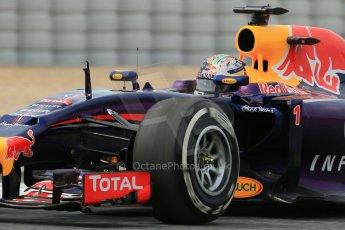 World © Octane Photographic Ltd. Saturday 10th May 2014. Circuit de Catalunya - Spain - Formula 1 Practice 3. Infiniti Red Bull Racing RB10 - Sebastian Vettel. Digital Ref: 0935lb1d7350
