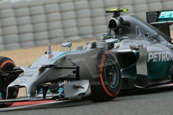 World © Octane Photographic Ltd. Saturday 10th May 2014. Circuit de Catalunya - Spain - Formula 1 Practice 3. Mercedes AMG Petronas F1 W05 Hybrid – Lewis Hamilton. Digital Ref: 0935lb1d7371