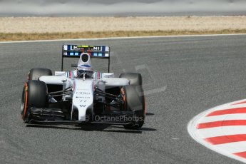 World © Octane Photographic Ltd. Saturday 10th May 2014. Circuit de Catalunya - Spain - Formula 1 Qualifying. Williams Martini Racing FW36 – Valtteri Bottas Digital Ref: 0936lb1d7529