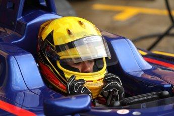 World © Octane Photographic Ltd. Sunday 11th May 2014. GP3 Race 2 – Circuit de Catalunya, Barcelona, Spain. Luis Sa Silva - Carlin. Digital Ref : 0940cb7d0470