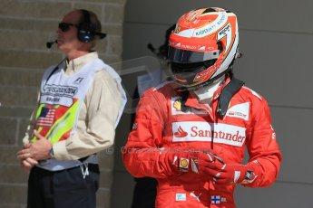 World © Octane Photographic Ltd. Saturday 1st November 2014, F1 USA GP, Austin, Texas, Circuit of the Americas (COTA) - Qualifying. Scuderia Ferrari F14T – Kimi Raikkonen. Digital Ref: 1149LB1D0366