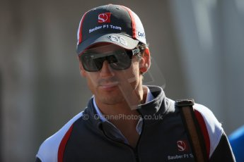 World © Octane Photographic Ltd. Sunday 2nd November 2014, F1 USA GP, Austin, Texas, Circuit of the Americas (COTA) - Paddock & Atmosphere. Sauber C33 – Adrian Sutil. Digital Ref: 1150LB1D0543