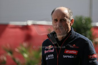 World © Octane Photographic Ltd. Sunday 2nd November 2014, F1 USA GP, Austin, Texas, Circuit of the Americas (COTA) - Paddock & Atmosphere. Scuderia Toro Rosso - Franz Tost. Digital Ref: 1150LB1D0802