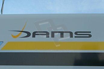 World © Octane Photographic Ltd. World Series by Renault collective test, Jerez de la Frontera, March 24th 2014. DAMS logo. Digital Ref : 0897cb1d4463