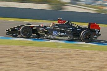 World © Octane Photographic Ltd. World Series by Renault collective test, Jerez de la Frontera, March 24th 2014. Lotus – Marlon Stockinger. Digital Ref : 0897cb1d4530