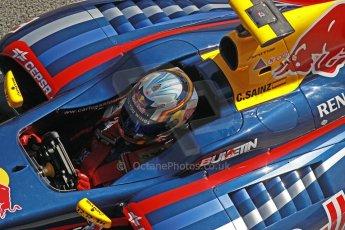 World © Octane Photographic Ltd. World Series by Renault collective test, Jerez de la Frontera, March 24th 2014. DAMS - Carlos Sainz jnr. Digital Ref : 0897cb1d4648