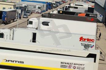 World © Octane Photographic Ltd. World Series by Renault collective test, Jerez de la Frontera, March 24th 2014. Formula Renault 3.5 paddock . Digital Ref : 0897cb1d4714