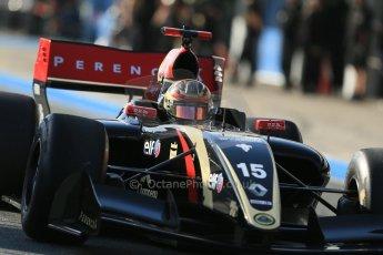 World © Octane Photographic Ltd. World Series by Renault collective test, Jerez de la Frontera, March 24th 2014. Lotus – Marlon Stockinger. Digital Ref : 0897lb1d6705