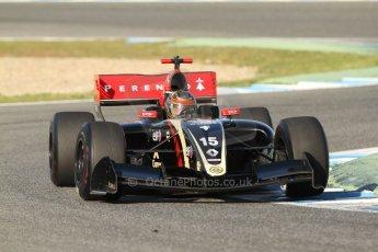 World © Octane Photographic Ltd. World Series by Renault collective test, Jerez de la Frontera, March 25th 2014. Lotus – Marlon Stockinger. Digital Ref : 0898cb7d7919