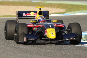 World © Octane Photographic Ltd. World Series by Renault collective test, Jerez de la Frontera, March 25th 2014. DAMS - Carlos Sainz jnr. Digital Ref : 0898cb7d7947
