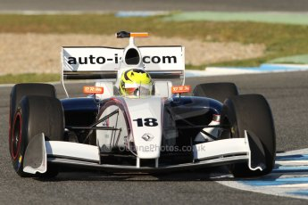 World © Octane Photographic Ltd. World Series by Renault collective test, Jerez de la Frontera, March 25th 2014. ISR – Nigel Melker. Digital Ref : 0898cb7d7967