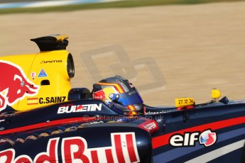 World © Octane Photographic Ltd. World Series by Renault collective test, Jerez de la Frontera, March 25th 2014. DAMS - Carlos Sainz jnr. Digital Ref : 0898cb7d8212