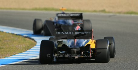 World © Octane Photographic Ltd. World Series by Renault collective test, Jerez de la Frontera, March 25th 2014. DAMS -  Norman Nato.Digital Ref : 0898lb1d8210