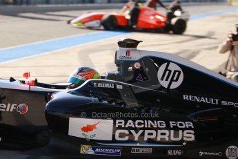 World © Octane Photographic Ltd. World Series by Renault collective test, Jerez de la Frontera, March 26th 2014. Pons Racing – Tio Ellinas. Digital Ref : 0899cb1d7057