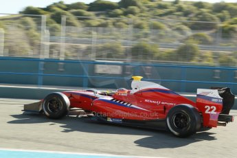 World © Octane Photographic Ltd. World Series by Renault collective test, Jerez de la Frontera, March 26th 2014. Zeta Corse. – Roberto Merhi Digital Ref : 0899cb1d7161