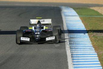 World © Octane Photographic Ltd. World Series by Renault collective test, Jerez de la Frontera, March 26th 2014. Pons Racing – Meindert van Buuren. Digital Ref : 0899lb1d8425