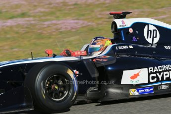 World © Octane Photographic Ltd. World Series by Renault collective test, Jerez de la Frontera, March 26th 2014. Pons Racing – Tio Ellinas. Digital Ref : 0899lb1d8629