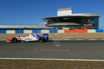 World © Octane Photographic Ltd. World Series by Renault collective test, Jerez de la Frontera, March 26th 2014. Fortec Motorsports – Oliver Rowland. Digital Ref : 0899lb1d9190