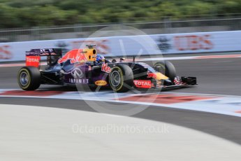 World © Octane Photographic Ltd. Infiniti Red Bull Racing RB11 – Daniel Ricciardo. Friday 27th November 2015, F1 Abu Dhabi Grand Prix, Practice 1, Yas Marina. Digital Ref: 1477CB1L5214