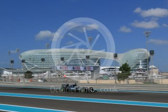 World © Octane Photographic Ltd. Mercedes AMG Petronas F1 W06 Hybrid – Lewis Hamilton. Friday 27th November 2015, F1 Abu Dhabi Grand Prix, Practice 1, Yas Marina. Digital Ref: 1477LB1D6224