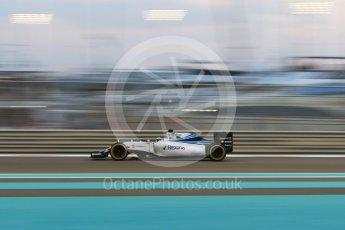 World © Octane Photographic Ltd. Williams Martini Racing FW37 – Felipe Massa. Friday 27th November 2015, F1 Abu Dhabi Grand Prix, Practice 2, Yas Marina. Digital Ref: 1478CB7D1963