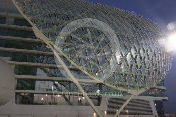 World © Octane Photographic Ltd. The Viceroy Hotel. Friday 27th November 2015, F1 Abu Dhabi Grand Prix, Practice 2, Yas Marina. Digital Ref: 1478CB7D2258