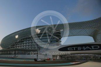 World © Octane Photographic Ltd. Williams Martini Racing FW37 – Felipe Massa. Friday 27th November 2015, F1 Abu Dhabi Grand Prix, Practice 2, Yas Marina. Digital Ref: 1478LB1D7245
