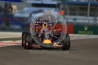 World © Octane Photographic Ltd. Infiniti Red Bull Racing RB11 – Daniel Ricciardo. Friday 27th November 2015, F1 Abu Dhabi Grand Prix, Practice 2, Yas Marina. Digital Ref: 1478LB1D7316