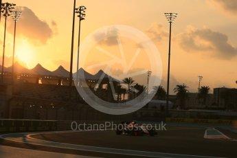 World © Octane Photographic Ltd. Manor Marussia F1 Team MR03B – Roberto Merhi. Friday 27th November 2015, F1 Abu Dhabi Grand Prix, Practice 2, Yas Marina. Digital Ref: 1478LB5D3999