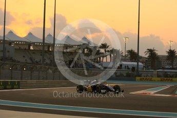 World © Octane Photographic Ltd. Sauber F1 Team C34-Ferrari – Felipe Nasr. Friday 27th November 2015, F1 Abu Dhabi Grand Prix, Practice 2, Yas Marina. Digital Ref: 1478LB5D4213