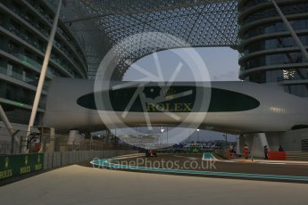 World © Octane Photographic Ltd. Infiniti Red Bull Racing RB11. Friday 27th November 2015, F1 Abu Dhabi Grand Prix, Practice 2, Yas Marina. Digital Ref: 1478LB5D4243