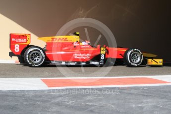 World © Octane Photographic Ltd. Friday 27th November 2015. Racing Engineering – Alexander Rossi. GP2 Practice, Yas Marina, Abu Dhabi. Digital Ref. : 1476CB7D1549