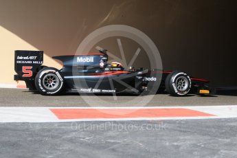 World © Octane Photographic Ltd. Friday 27th November 2015. ART Grand Prix – Stoffel Vandoorne. GP2 Practice, Yas Marina, Abu Dhabi. Digital Ref. : 1476CB7D1571