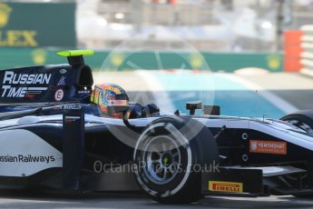 World © Octane Photographic Ltd. Friday 27th November 2015. Russian Time – Artem Markelov. GP2 Practice, Yas Marina, Abu Dhabi. Digital Ref. : 1476LB1D5782
