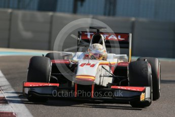 World © Octane Photographic Ltd. Friday 27th November 2015. Campos Racing – Arthur Pic. GP2 Practice, Yas Marina, Abu Dhabi. Digital Ref. : 1476LB1D6054