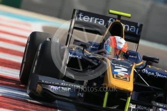 World © Octane Photographic Ltd. Friday 27th November 2015. DAMS – Alex Lynn. GP2 Practice, Yas Marina, Abu Dhabi. Digital Ref. : 1476LB1D6079