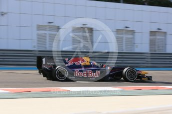 World © Octane Photographic Ltd. Friday 27th November 2015. DAMS – Pierre Gasly. GP2 Practice, Yas Marina, Abu Dhabi. Digital Ref. : 1476LB5D3941