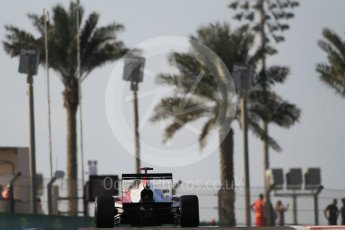 World © Octane Photographic Ltd. Friday 27th November 2015. ART Grand Prix – Esteban Ocon. GP3 Qualifying - Yas Marina, Abu Dhabi. Digital Ref. : 1479CB1L5393