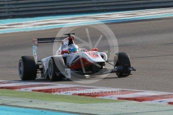 World © Octane Photographic Ltd. Friday 27th November 2015. ART Grand Prix – Alfonso Celis Jr. GP3 Qualifying - Yas Marina, Abu Dhabi. Digital Ref. : 1479CB1L5491