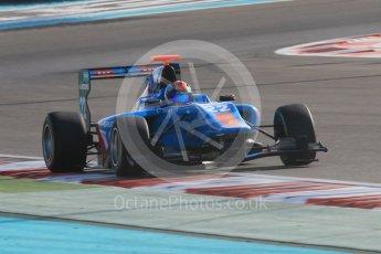 World © Octane Photographic Ltd. Friday 27th November 2015. Jenzer Motorsport – Ralph Boschung. GP3 Qualifying - Yas Marina, Abu Dhabi. Digital Ref. : 1479CB1L5550