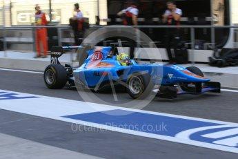 World © Octane Photographic Ltd. Friday 27th November 2015. Jenzer Motorsport – Pal Varhaug. GP3 Practice - Yas Marina, Abu Dhabi. Digital Ref. : 1475CB1L4408