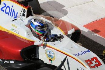 World © Octane Photographic Ltd. Friday 27th November 2015. Campos Racing – Zaid Ashkanani. GP3 Practice - Yas Marina, Abu Dhabi. Digital Ref. : 1475CB1L4622