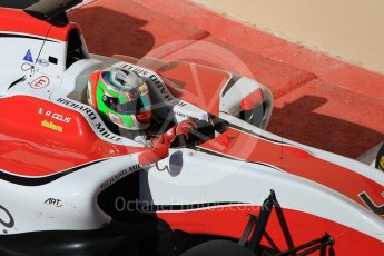 World © Octane Photographic Ltd. Friday 27th November 2015. ART Grand Prix – Alfonso Celis Jr. GP3 Practice - Yas Marina, Abu Dhabi. Digital Ref. : 1475CB1L4685