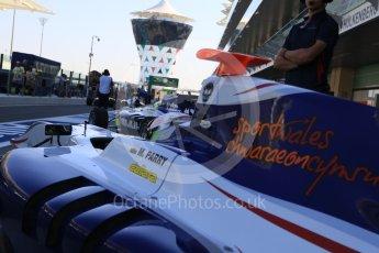 World © Octane Photographic Ltd. Friday 27th November 2015. Koiranen GP – Matthew Parry. GP3 Practice - Yas Marina, Abu Dhabi. Digital Ref. : 1475CB7D1465