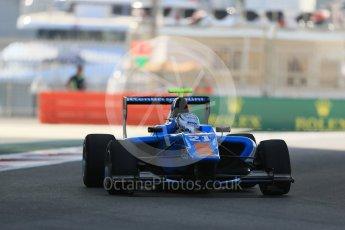 World © Octane Photographic Ltd. Friday 27th November 2015. Jenzer Motorsport – Matheo Tuscher. GP3 Practice - Yas Marina, Abu Dhabi. Digital Ref. : 1475LB1D5076