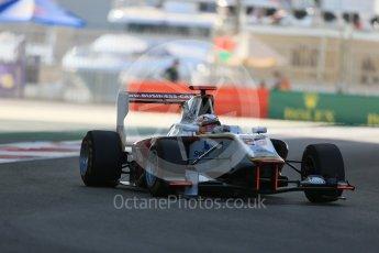 World © Octane Photographic Ltd. Friday 27th November 2015. Campos Racing – Konstantin Tereshchenko. GP3 Practice - Yas Marina, Abu Dhabi. Digital Ref. : 1475LB1D5090