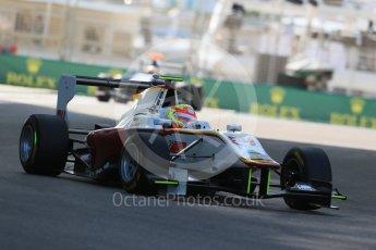 World © Octane Photographic Ltd. Friday 27th November 2015. Campos Racing – Alex Palou. GP3 Practice - Yas Marina, Abu Dhabi. Digital Ref. : 1475LB1D5296