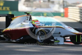 World © Octane Photographic Ltd. Friday 27th November 2015. Campos Racing – Alex Palou. GP3 Practice - Yas Marina, Abu Dhabi. Digital Ref. : 1475LB1D5353