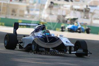 World © Octane Photographic Ltd. Friday 27th November 2015. Carlin – Adderly Fong, GP3 Practice - Yas Marina, Abu Dhabi. Digital Ref. : 1475LB1D5375