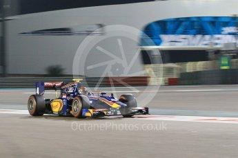 World © Octane Photographic Ltd. Friday 27th November 2015. Racing Engineering – Alexander Rossi. GP2 Qualifying, Yas Marina, Abu Dhabi. Digital Ref. : 1481CB1L5943